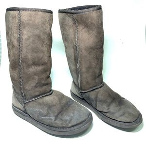 Ugg Classic Tall 5815 Brown Boots Womens Sz 7